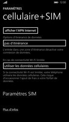 Nokia Lumia 830 - Réseau - utilisation à l'étranger - Étape 8