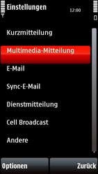 Nokia 5800 Xpress Music - MMS - Manuelle Konfiguration - Schritt 23