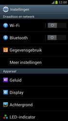 Samsung I9300 Galaxy S III - Internet - Dataroaming uitschakelen - Stap 4
