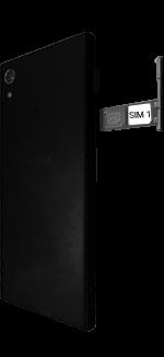 Sony Xperia XA1 - SIM-Karte - Einlegen - 0 / 0