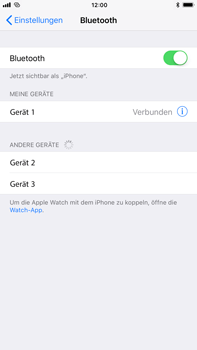 Apple iPhone 7 Plus - Bluetooth - Geräte koppeln - 8 / 9