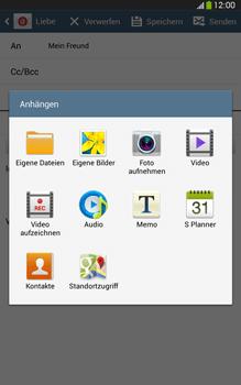 Samsung Galaxy Tab 3 8-0 LTE - E-Mail - E-Mail versenden - 1 / 1