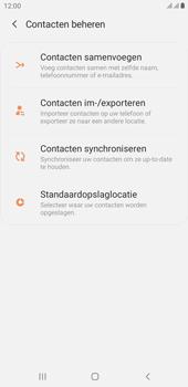 Samsung galaxy-j4-plus-dual-sim-sm-j415fn-android-pie - Contacten en data - Contacten kopiëren van SIM naar toestel - Stap 6