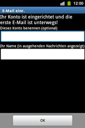Samsung S5830i Galaxy Ace i - E-Mail - Konto einrichten - Schritt 16