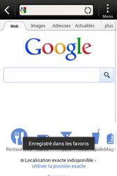 HTC A320e Desire C - Internet - Navigation sur Internet - Étape 7