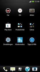 HTC Desire 601 - MMS - Manuelle Konfiguration - 3 / 19