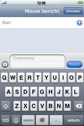 Apple iPhone 3G S - MMS - hoe te versturen - Stap 3