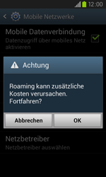 Samsung I9105P Galaxy S2 Plus - Ausland - Im Ausland surfen – Datenroaming - Schritt 9