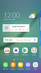 Samsung Galaxy S6 Edge - Android Nougat - Operazioni iniziali - Installazione di widget e applicazioni nella schermata iniziale - Fase 7