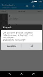HTC One M8s (Model 0PKV100) - Contacten en data - Contacten overzetten via Bluetooth - Stap 10