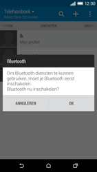 HTC One M8s - Contactgegevens overzetten - delen via Bluetooth - Stap 10