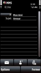 Nokia 5800 Xpress Music - MMS - envoi d'images - Étape 10