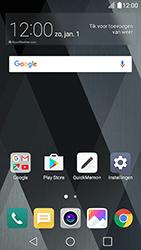 LG K10 (2017) - sms - handmatig instellen - stap 2