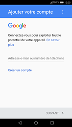 Huawei P9 - Android Nougat - Applications - Créer un compte - Étape 3