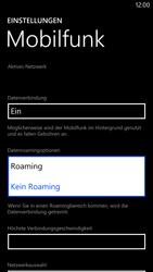Nokia Lumia 1320 - Ausland - Im Ausland surfen – Datenroaming - 1 / 1