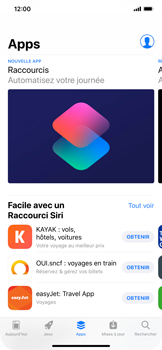 Apple iPhone XR - Applications - Installation d