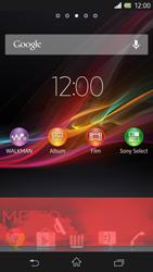 Sony Xperia Z - Operazioni iniziali - Installazione di widget e applicazioni nella schermata iniziale - Fase 7