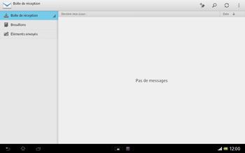 Sony SGP321 Xperia Tablet Z LTE - E-mail - envoyer un e-mail - Étape 3