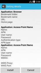 Huawei Ascend Y625 - Internet - Automatic configuration - Step 6