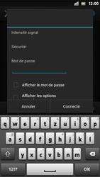 Sony Xperia S - WiFi - Configuration du WiFi - Étape 7