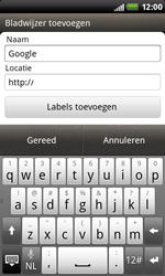 HTC S510b Rhyme - Internet - hoe te internetten - Stap 6