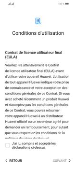 Huawei P Smart 2021 - Premiers pas - Configuration de l
