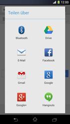 Sony Xperia Z1 Compact - Internet und Datenroaming - Verwenden des Internets - Schritt 22