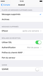 Apple iPhone 7 - E-mail - Configuration manuelle - Étape 26