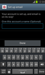 Samsung Galaxy S III Mini - E-mail - 032c. Email wizard - Outlook - Step 10