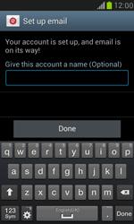 Samsung I8190 Galaxy S III Mini - E-mail - Manual configuration (outlook) - Step 10