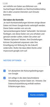 Samsung Galaxy S10e - Apps - Konto anlegen und einrichten - Schritt 16