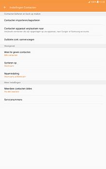 Samsung Galaxy Tab A 10.1 (SM-T585) - Contacten en data - Contacten kopiëren van SIM naar toestel - Stap 6