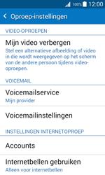 Samsung J100H Galaxy J1 - Voicemail - handmatig instellen - Stap 8