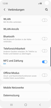 Samsung Galaxy S10e - Netzwerk - Netzwerkeinstellungen ändern - Schritt 5