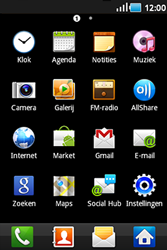 Samsung S5830 Galaxy Ace - E-mail - e-mail versturen - Stap 2