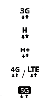 Samsung Galaxy A51 5G - Premiers pas - Comprendre les icônes affichés - Étape 11