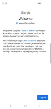 Samsung Galaxy S10 - E-mail - 032a. Email wizard - Gmail - Step 11