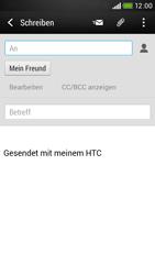 HTC Desire 601 - E-Mail - E-Mail versenden - 8 / 19