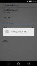 Sony Xperia Z2 - Rete - Selezione manuale della rete - Fase 9