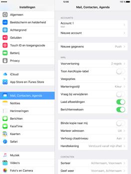 Apple iPad Mini 4 - E-mail - Handmatig instellen - Stap 15