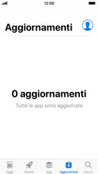 Apple iPhone SE - iOS 11 - Applicazioni - come verificare la disponibilità di aggiornamenti per l