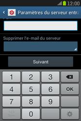 Samsung S6310 Galaxy Young - E-mail - Configuration manuelle - Étape 11
