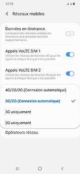 Samsung Galaxy A20e - Internet et connexion - Activer la 4G - Étape 7
