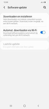 Samsung Galaxy S20 Ultra - software - update installeren zonder pc - stap 5