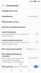 Huawei P9 - Android Nougat - SMS - handmatig instellen - Stap 7