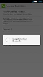 Alcatel One Touch Idol S - Réseau - Sélection manuelle du réseau - Étape 12