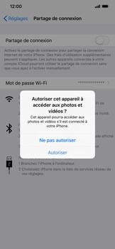 Apple iPhone XR - Internet et connexion - Utiliser le mode modem par USB - Étape 5