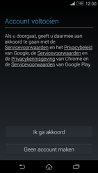 Sony Xperia Z3 Compact 4G (D5803) - Applicaties - Account aanmaken - Stap 14