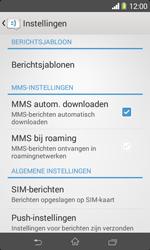 Sony D2005 Xperia E1 - MMS - probleem met ontvangen - Stap 6