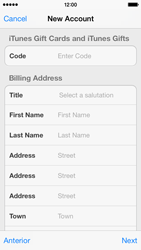 Apple iPhone 5c - Applications - setting up the application store - Step 20